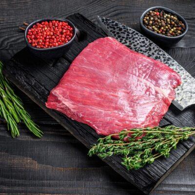 Bavette steak van biologisch rund
