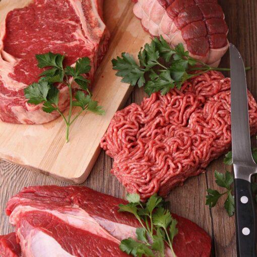 Het landleven natuurvlees vleespakket