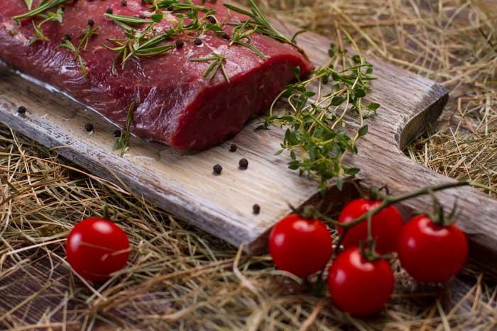 Gemengde natuurvlees pakketten