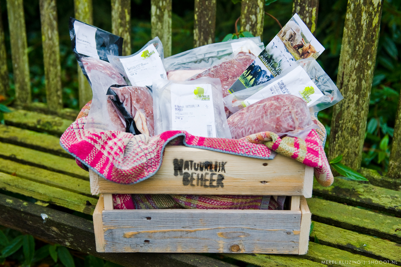 Hooglander natuurvlees pakketten