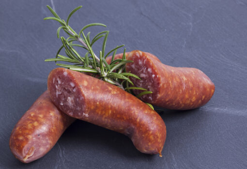 Lamsworstjes, chipolataworstjes van Schoonebeeker Heideschaap, 4 stuks