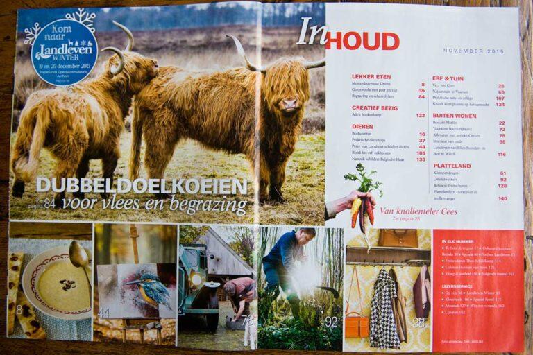 Dit recept met ons vlees vind je ook in Landleven Magazine nr 9 van 2015.