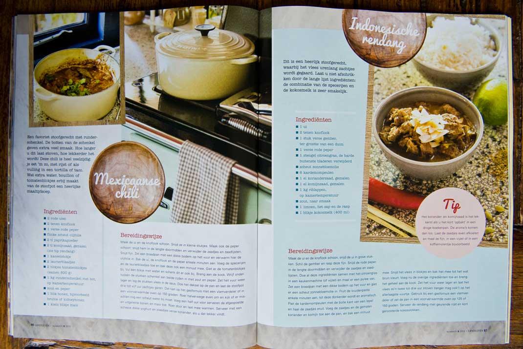 Dit is een recept uit Landleven Magazine nr 9 (2015), van culinair journaliste Klaske Bakker. Zij heeft dit recept speciaal ontwikkeld voor ons biologische Natuurvlees van de Schotse Hooglander.