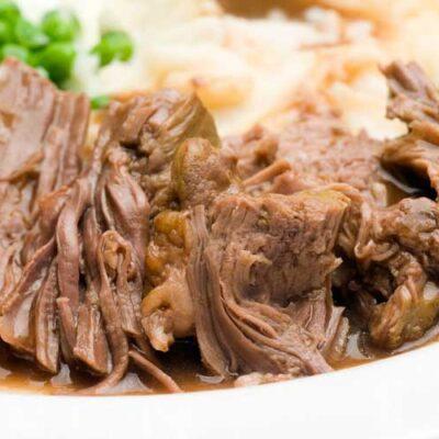 draadjesvlees pakket van biologisch gecertificeerde Schotse Hooglander, Limousin, of Angus runderen. 100% grasgevoerd vlees