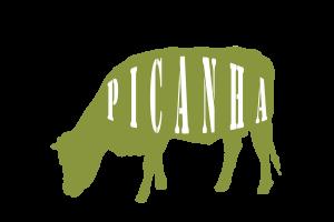 Grasgevoerde Picanha met een lichte vetdooradering en een prachtige roze rode kleur. Er hoort een mooie rand vet aan te zitten, die grotendeels verantwoordelijk is voor de geweldige smaak.
