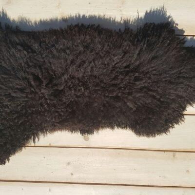 115x50 donkerbruine schapenvacht