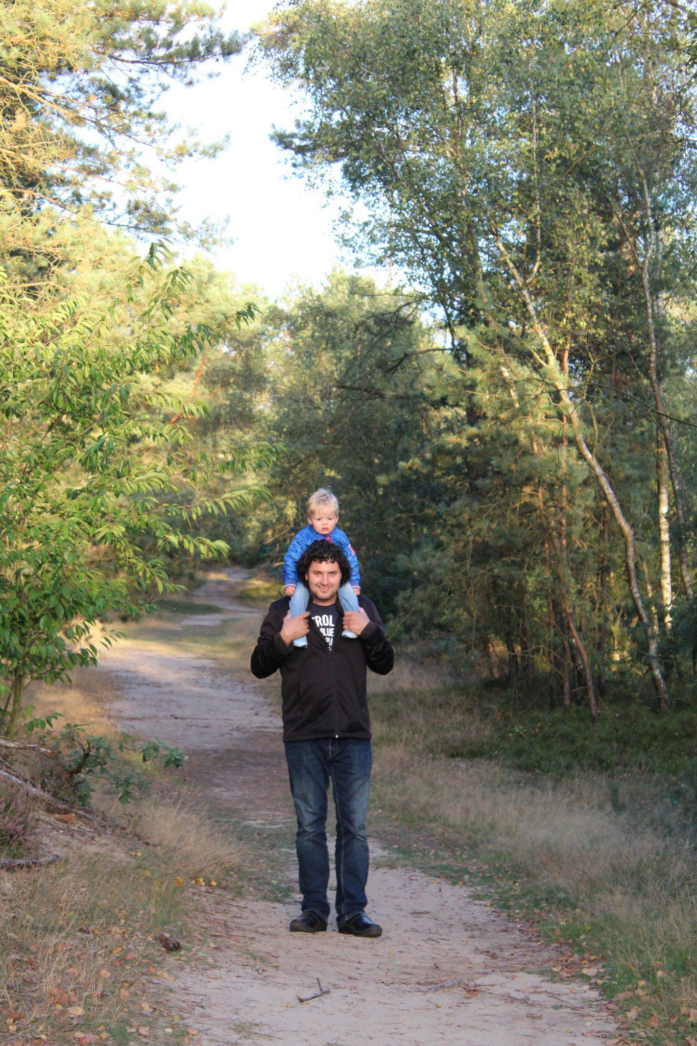 Dirk de bruin met zoon