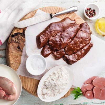 Orgaanvleespakket van biologisch rund