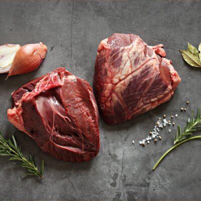 Runderhart van grasgevoerd natuurvlees