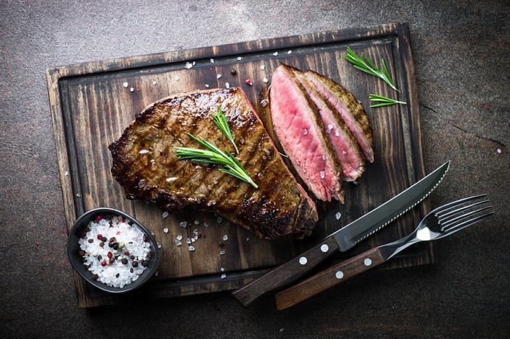 Biefstuk uit het Beef and Steak pakket voor Grillheden en steaklovers