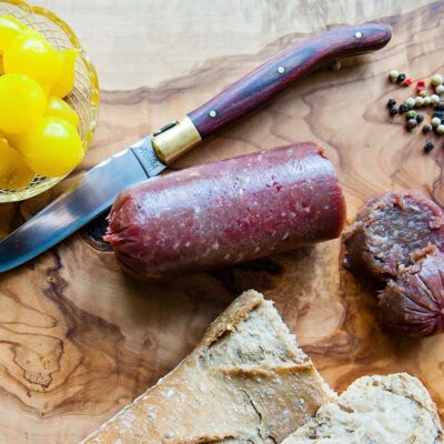 Ossenworst van Angus en Limousin rundvlees