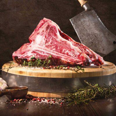 T-bone steak, dry aged van biologisch rund