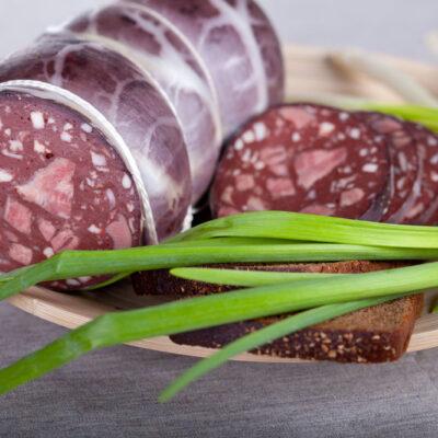 Tongenworst van Black Angus, dun gesneden ambachtelijke vleeswaar