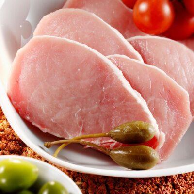 Filetlapjes van het biologisch scharrelvarken, biologischnatuurvlees.nl