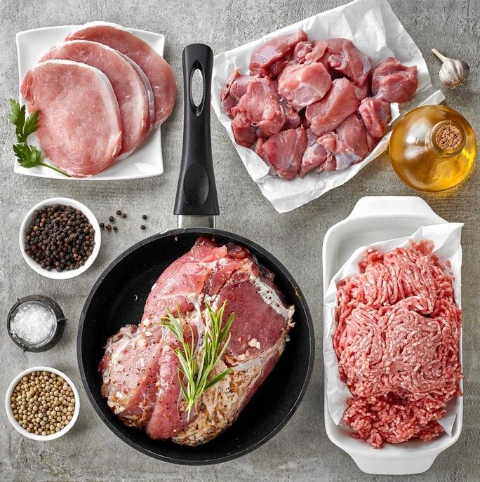 Varkensvlees pakket Scharrelvarken