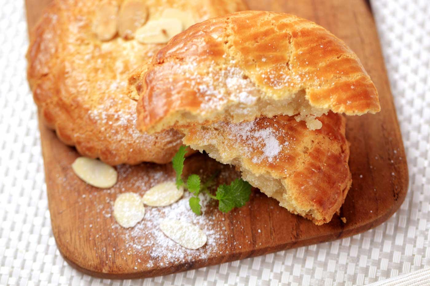 ambachtelijke gevulde koeken, 4 stuks