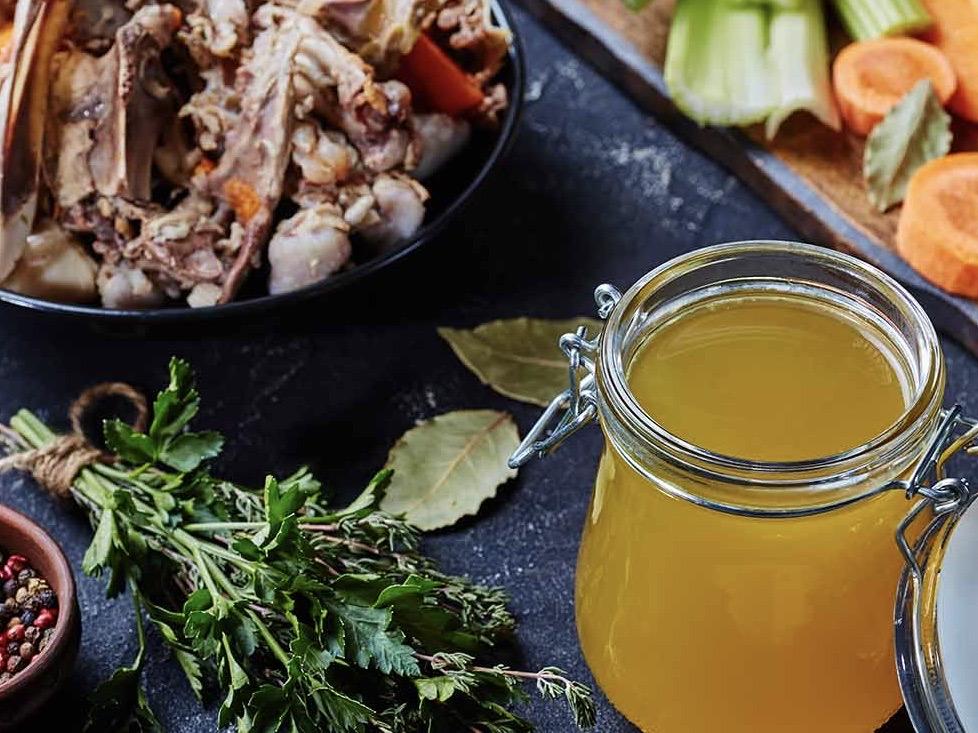 Babs kant en klare bouillon van kippenbotten