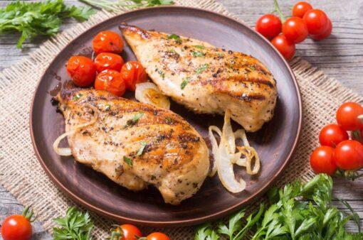 Kipfilet van polderhoen, bereid op de BBQ