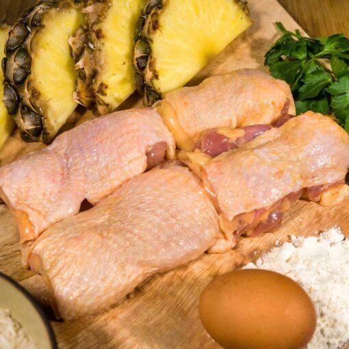 kippendij filet-van-Oranjehoen met vel