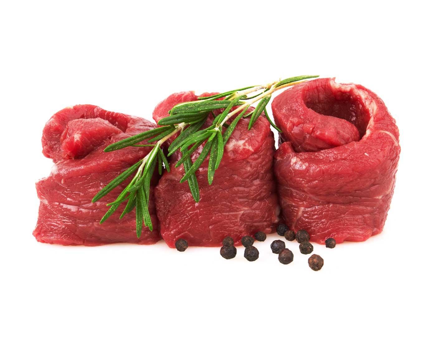 Ossenhaas puntjes van natuurvlees