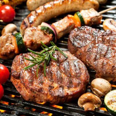 barbecuepakket, grasgevoerd biologisch rundvleespakket 4 kilo