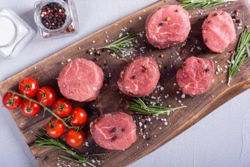 Varkenshaasjes geportioneerd per 60 gram, 5 stuks