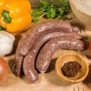 Runder braadworst van 100% natuurvlees