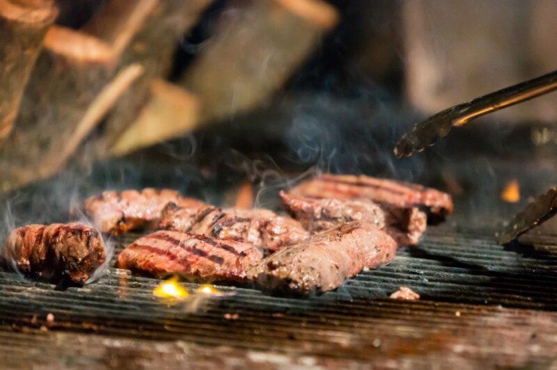 Flat iron steak op de BBQ