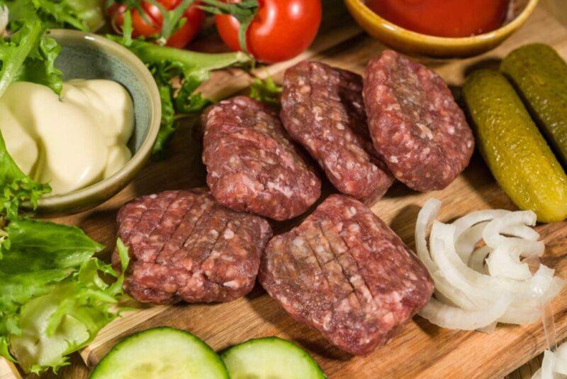Mini hamburgers van 100% grasgevoerd rundvlees