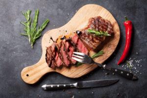 Bavette steak van 100% grasgevoerd rundvlees